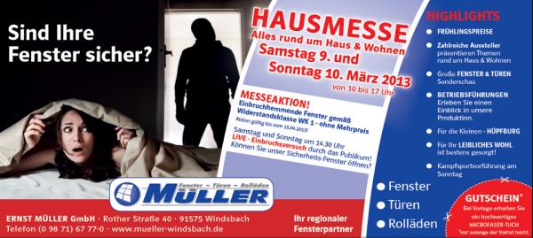 Hausmesse 2013